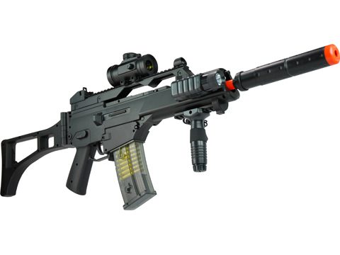Double Eagle M85P RIS Folding Stock AEG Automatic Electric Gun Airsoft Rifle