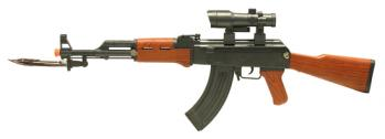 Spring Super Arms Bayonet AK47 Rifle FPS-220 Airsoft Gun