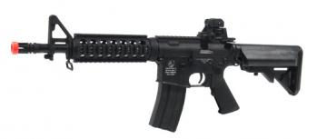 Electric Colt M4 CQB Assault Rifle FPS-450 Full Metal, Collapsible Stock Airsoft Gun