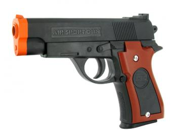 Spring Compact Custom Police Pistol FPS-150 Airsoft Gun
