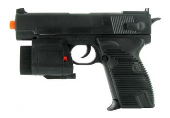Spring Special Forces Pistol FPS-120 Laser, Flashlight Airsoft Gun