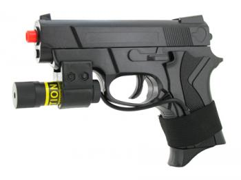 Spring Compact Special Tactics Pistol FPS-150 Laser Airsoft Gun