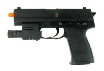 Spring Mini Tactical USP Pistol FPS-120 Laser Airsoft Gun