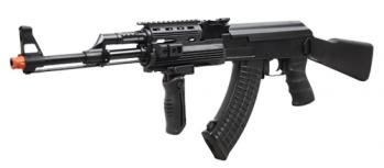 Jing Gong AK47 Full Metal Electric Assault Rifle FPS-440 Airsoft Gun