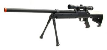 Spring SD98BK Bolt Action Sniper Rifle FPS 520 3-9X40 JP Unicorn Scope Airsoft Gun