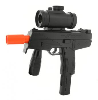 Spring Tactical TMP Machine Gun FPS-235 Red Dot Scope Airsoft Gun