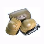 Tactical Knee and Elbow Pads Combo Pack Airsoft Gun Accessory ELBOW AND KNEE PADS (TAN)