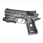 Spring Airsoft Pistol Gun with Red Laser K068B-R