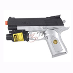 Spring Airsoft Pistol Gun with Red Laser K068BS-R