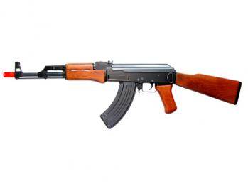 Electric TSD Tactical Gen II AK47 Rifle FPS-430 Full Metal, Real Wood Airsoft Gun